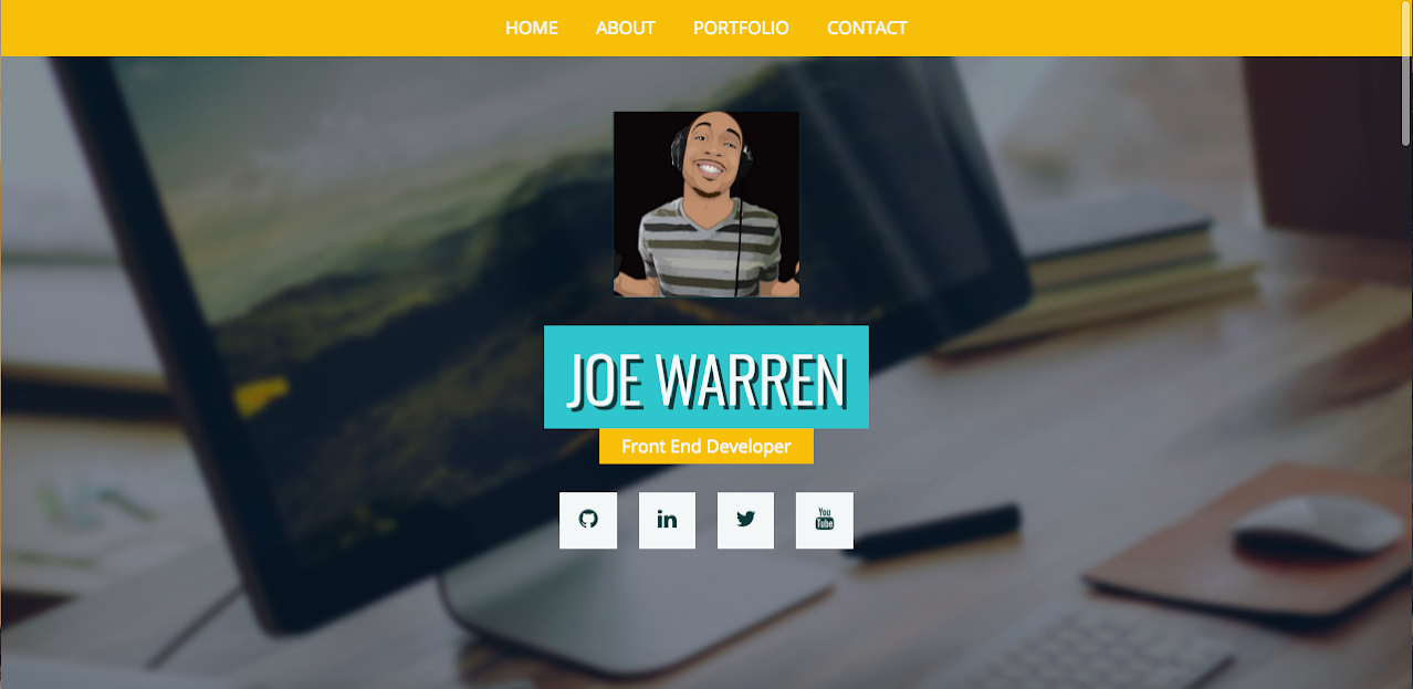 Joe Warren Portfolio Deluxe