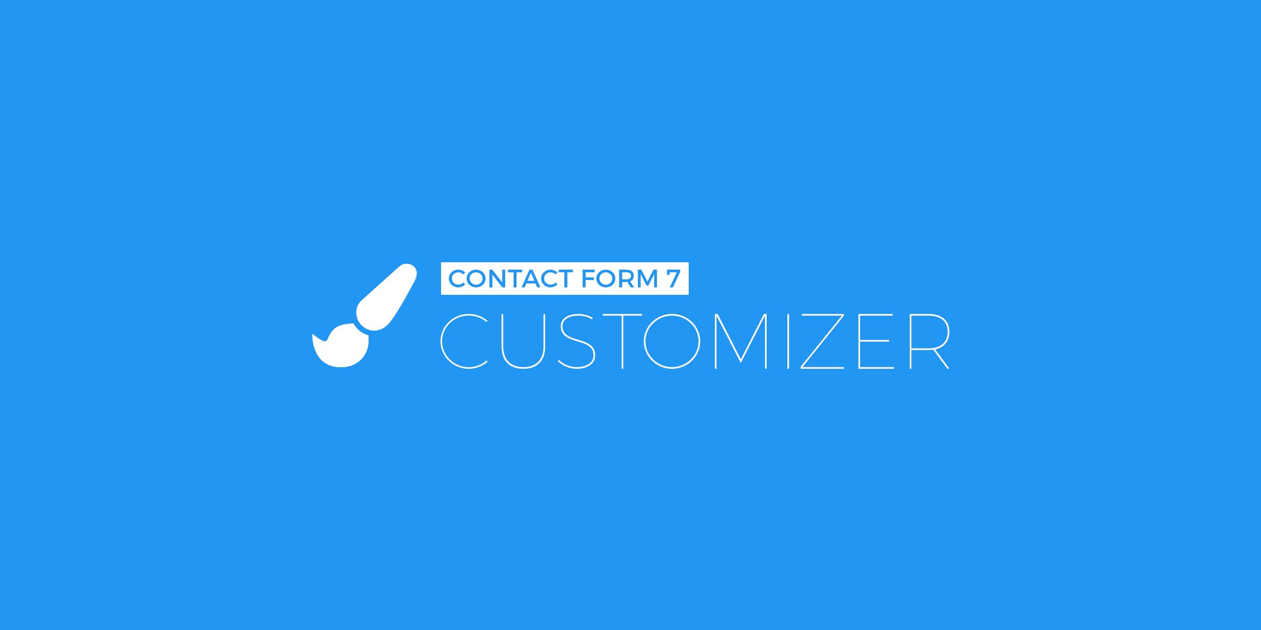 CF7 Customizer