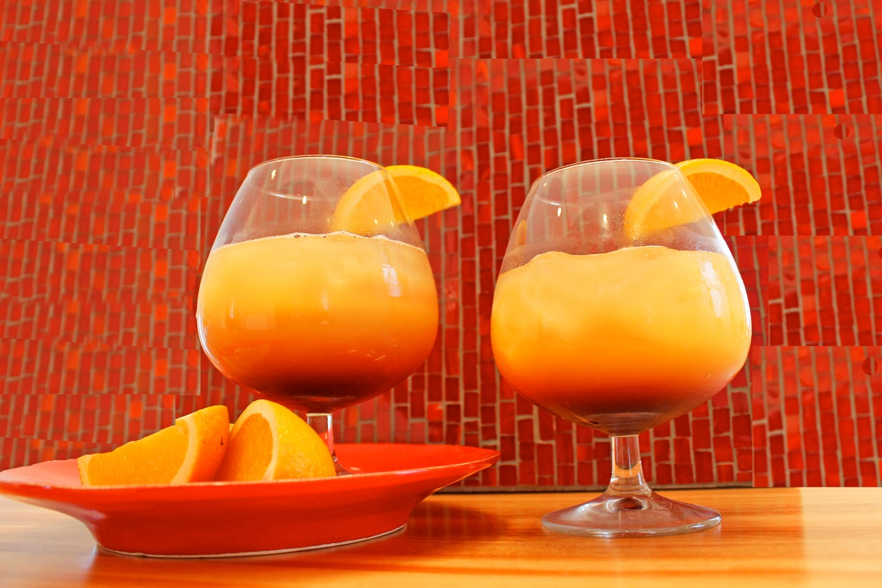 ounces orange juice 2 ounces tequila 1 2 ounce grenadine orange ...