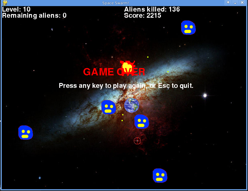 Space Swarm Screenshot