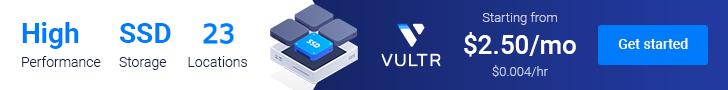 Vultr Banner