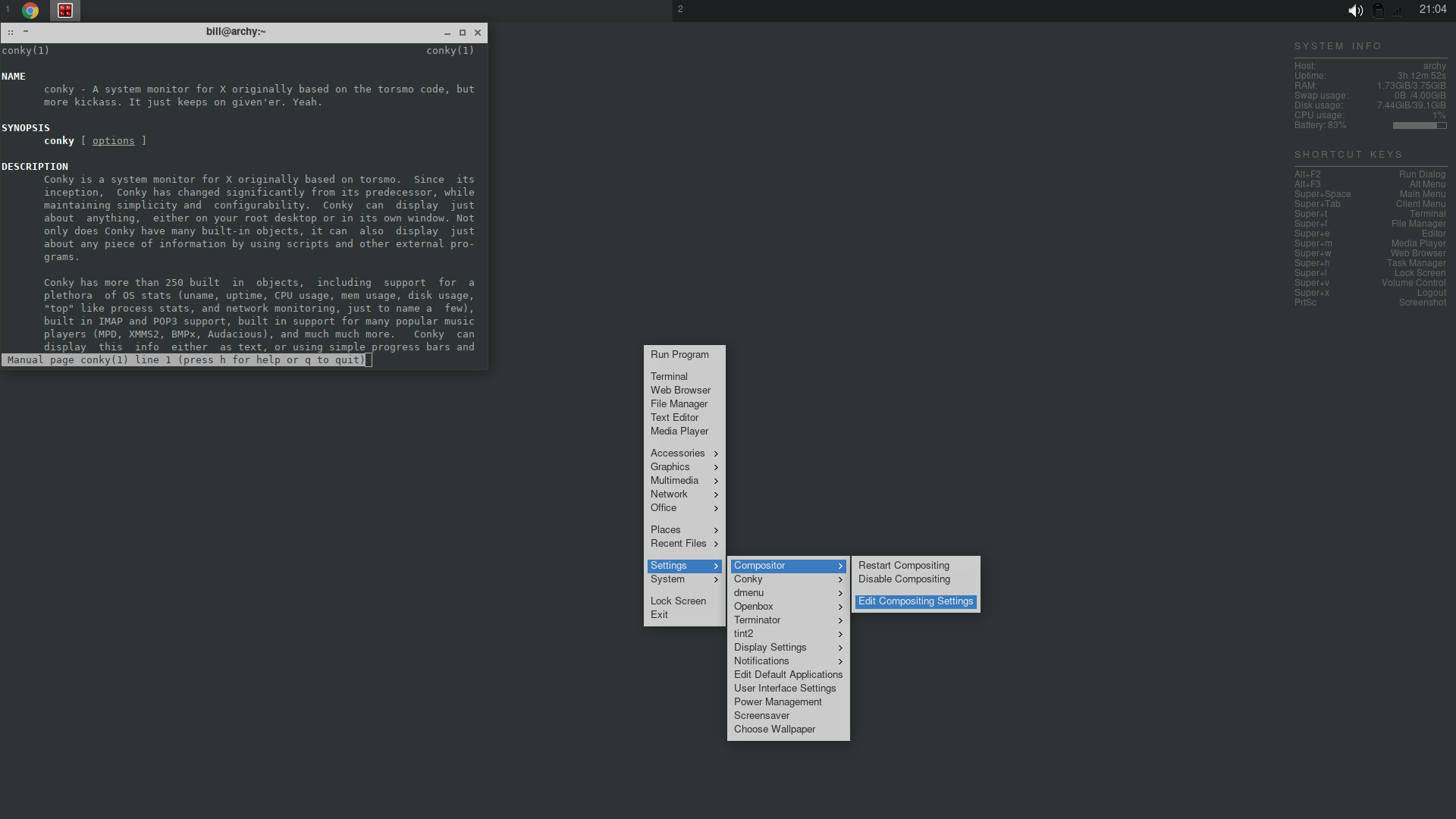 GitHub - nubilfi/archlinux-openbox: Archlinux Minimalist Edition