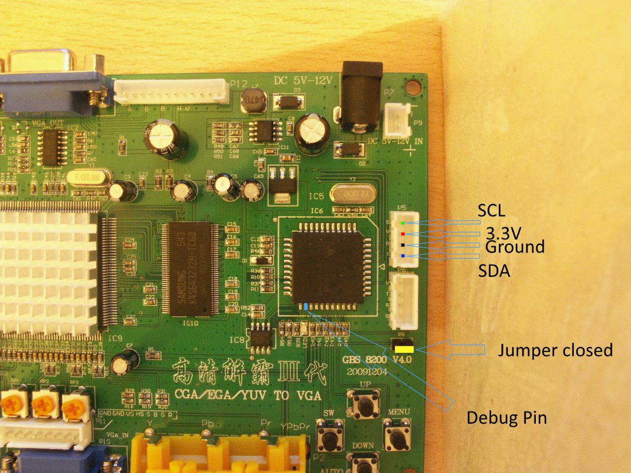 Build the Hardware · ramapcsx2/gbs-control Wiki · GitHub