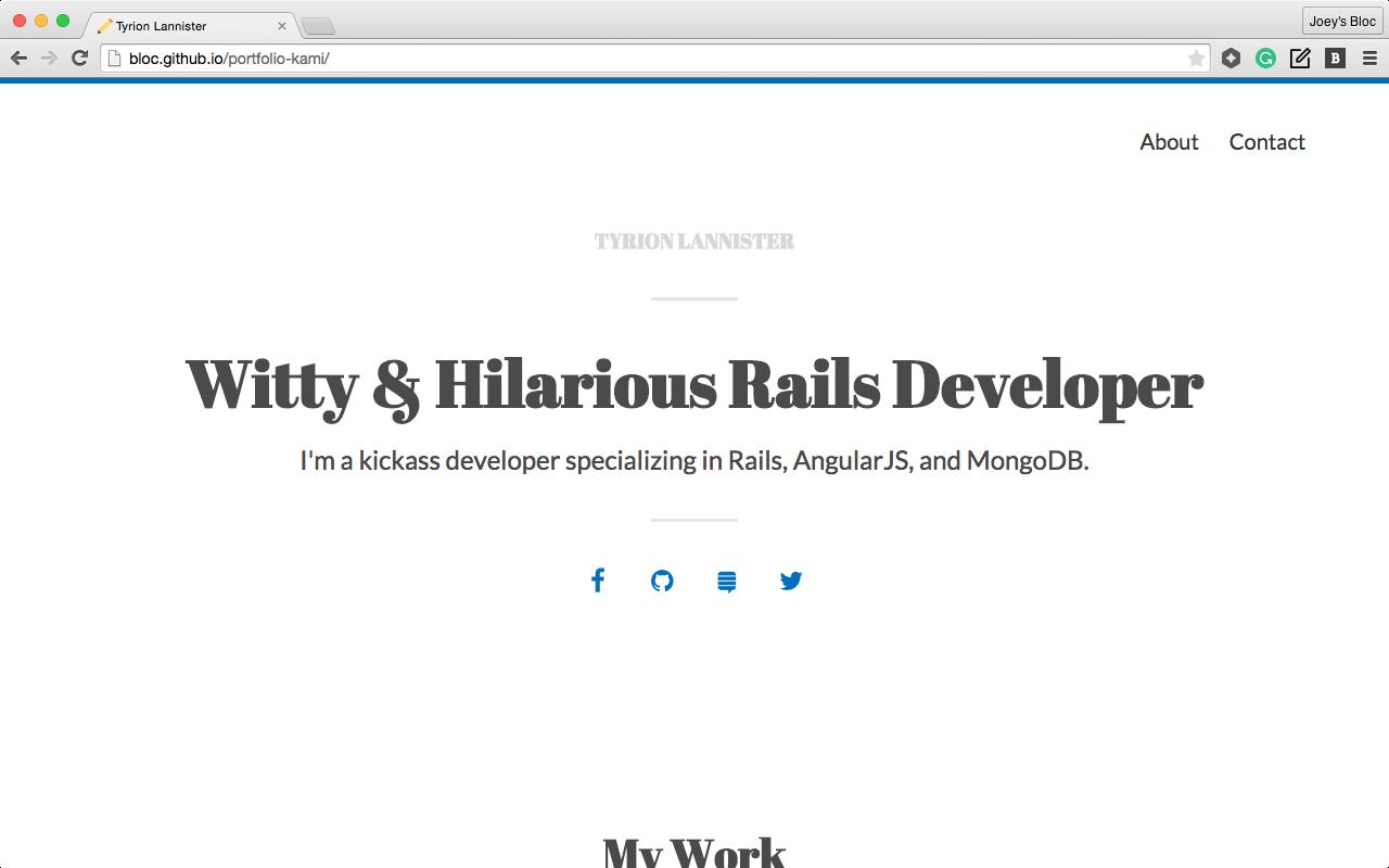 Default Type Theme blog