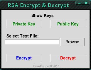 GitHub - EmreOvunc/RSA-Encryption-Decryption-Tool: RSA Encryption
