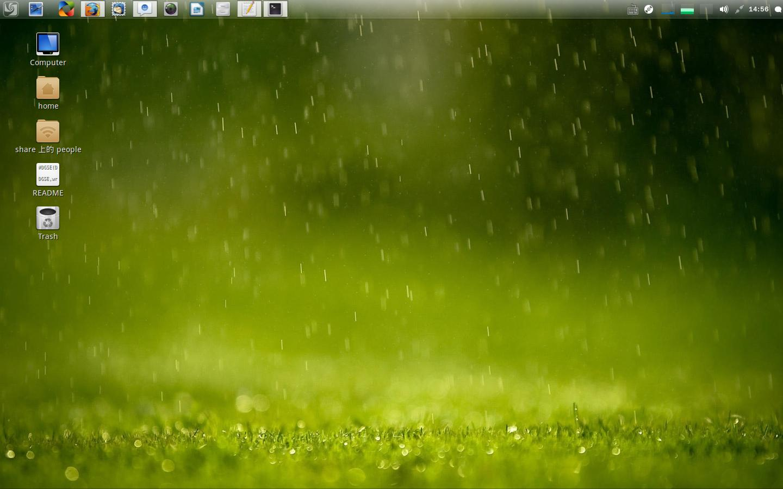 alt Linux Deepin desktop screenshot