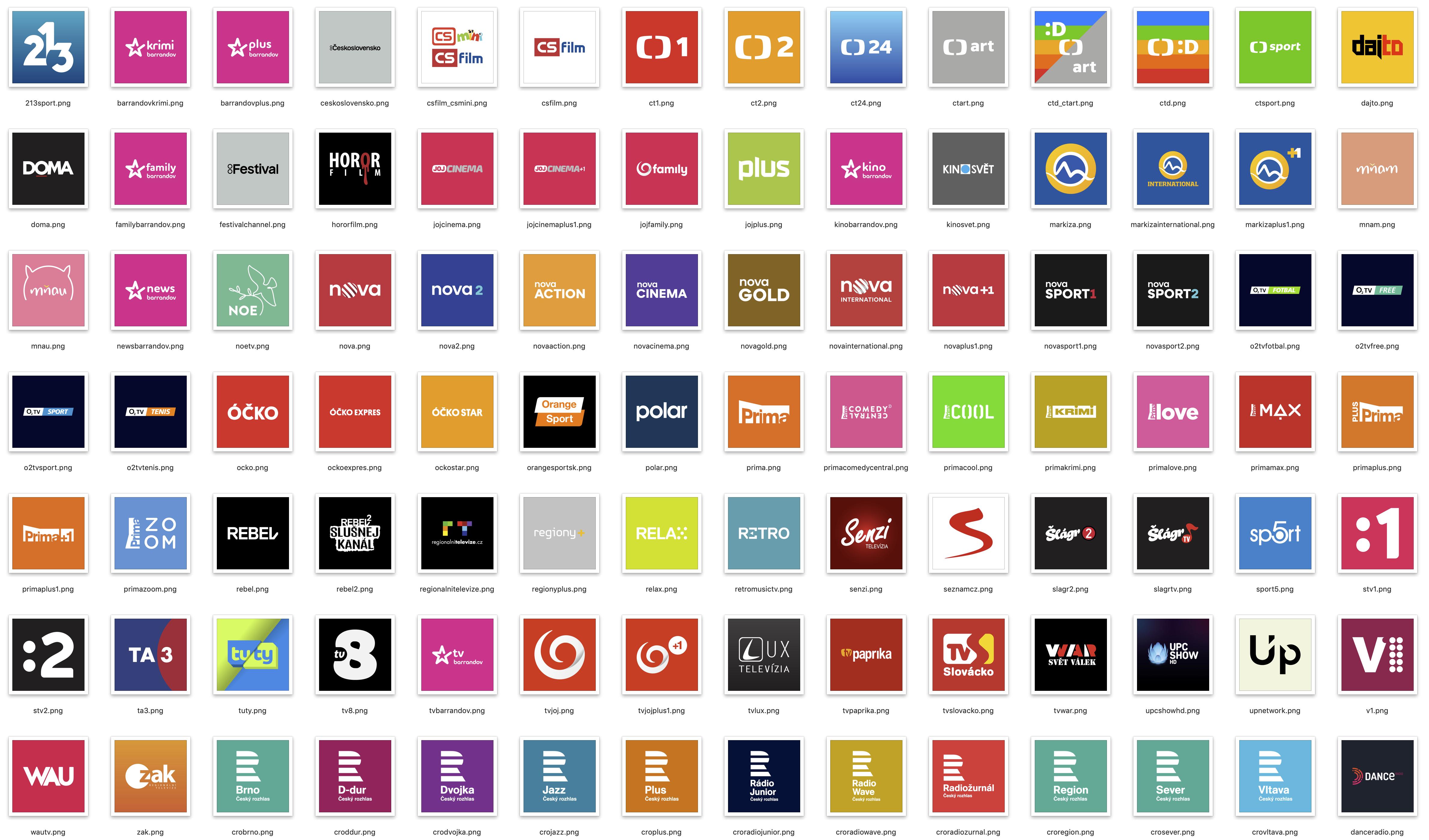 GitHub - MarhyCZ/picons: High quality TV Picons @ Icons by MarhyCZ