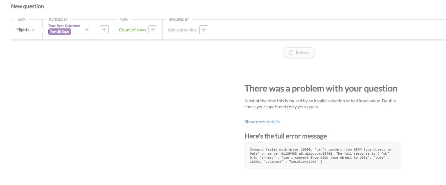 mongodb child date fields error can t convert from bson type