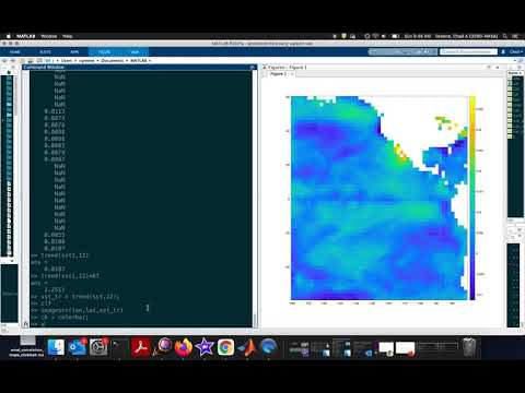 How to analyze trends in sea surface temperature using CDT
