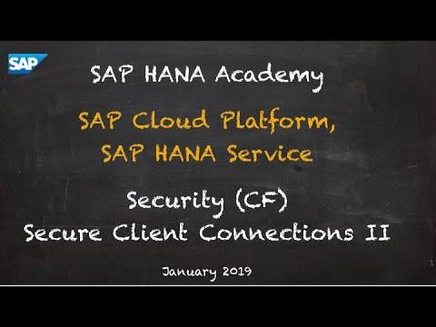 secure-sap-hana-client/README md at master · saphanaacademy