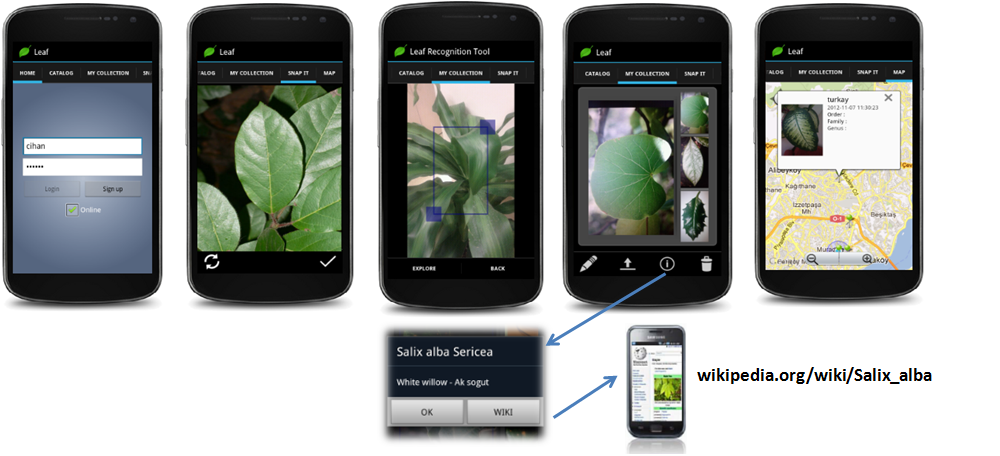 leafsnap android