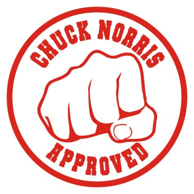 Chuck Norris approved this