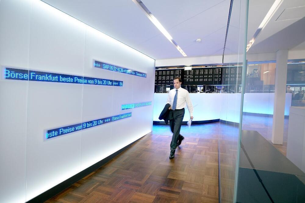 Deutsche Börse Group: Ticker tapes