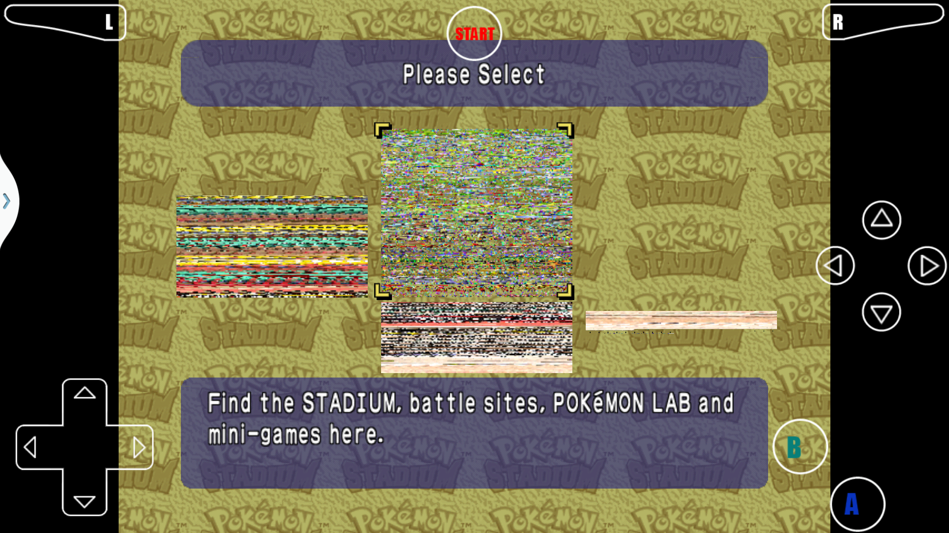 Pokemon Stadium, distorted graphics · Issue #111