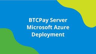 BTCPay - One Click Setup