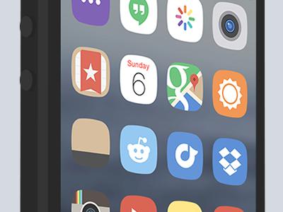 minimal.iOS Lockscreen