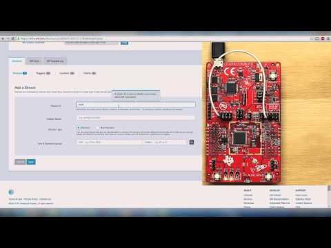 Energia + AT&T M2X: Video Tutorial