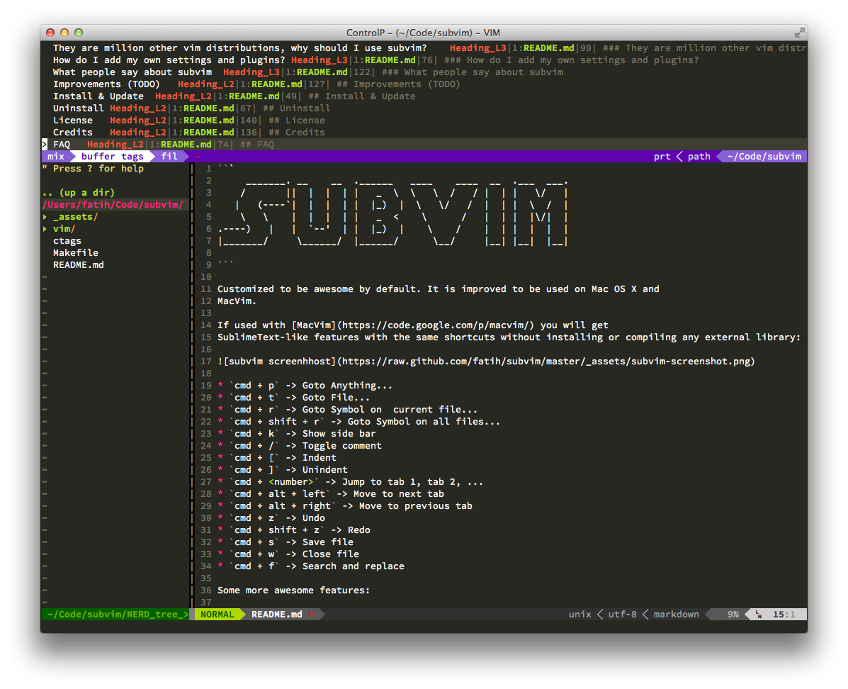 subvim screenhhost