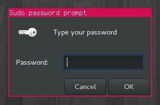 Password manager screenshot