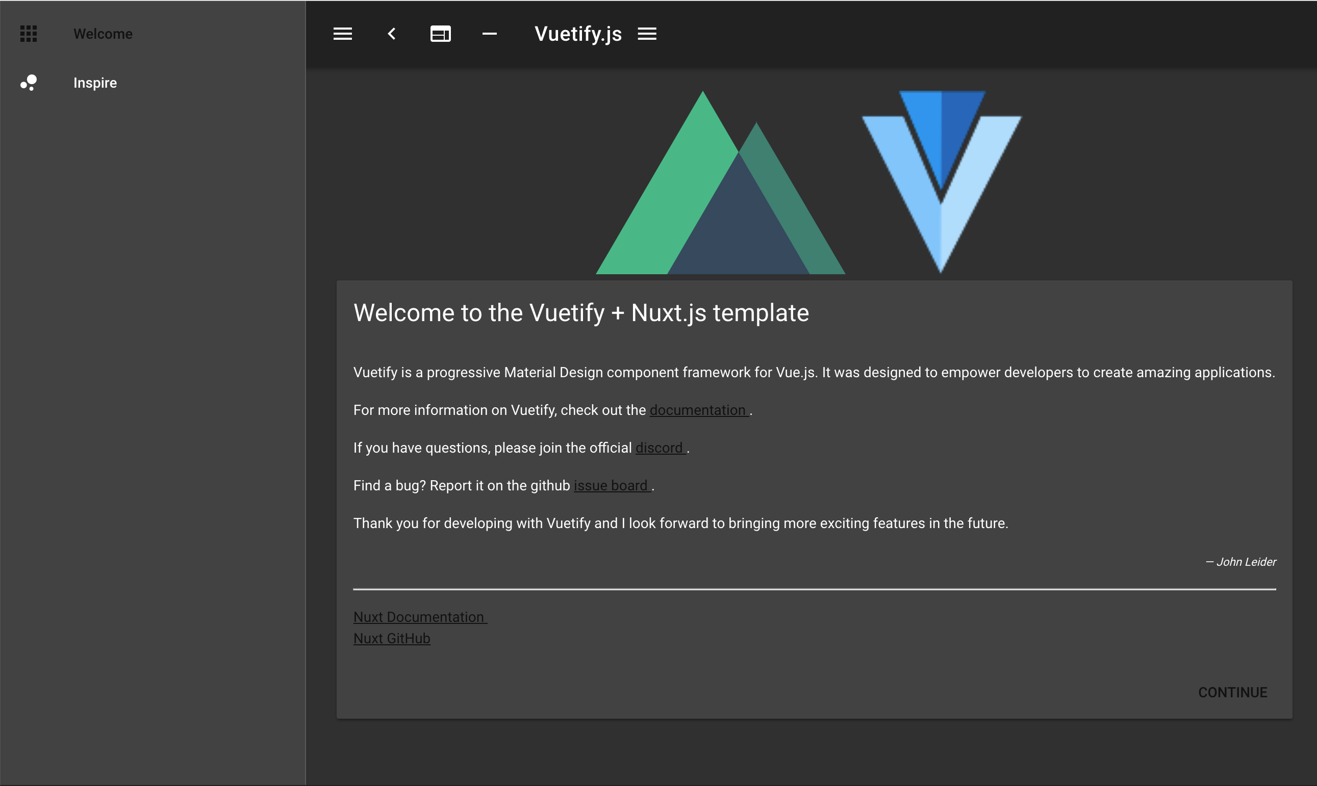 vuetify ui] Default link color doesn't contrast with