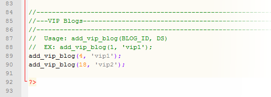 Multi-DB VIP Blogs