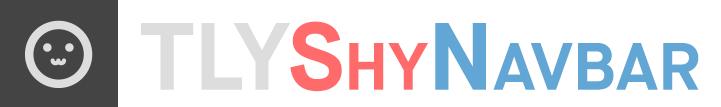 TLYShyNavBar banner
