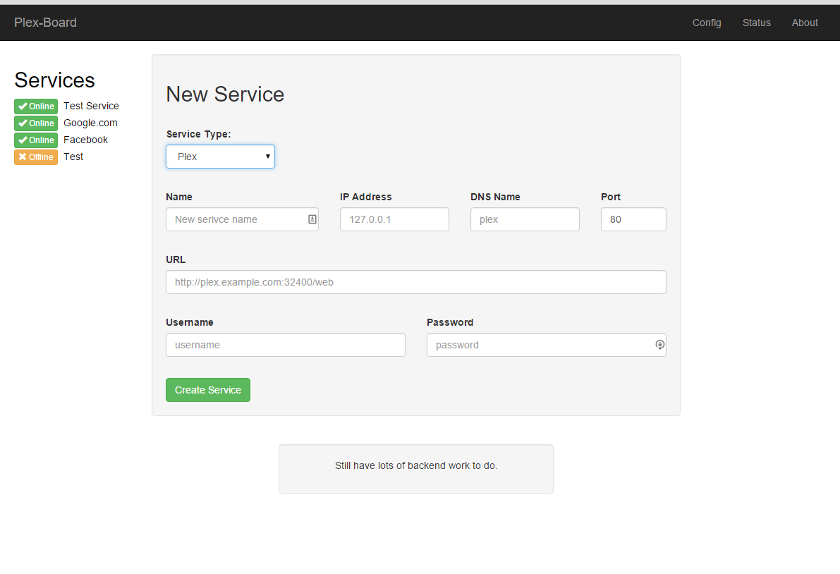 how to add login to plex media server