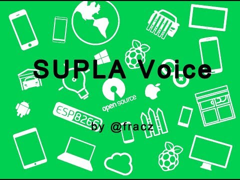 SUPLA Voice control - Instructions