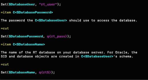 RT5 DB user org pass img