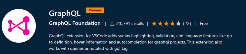 GraphQL Extension for VS Code