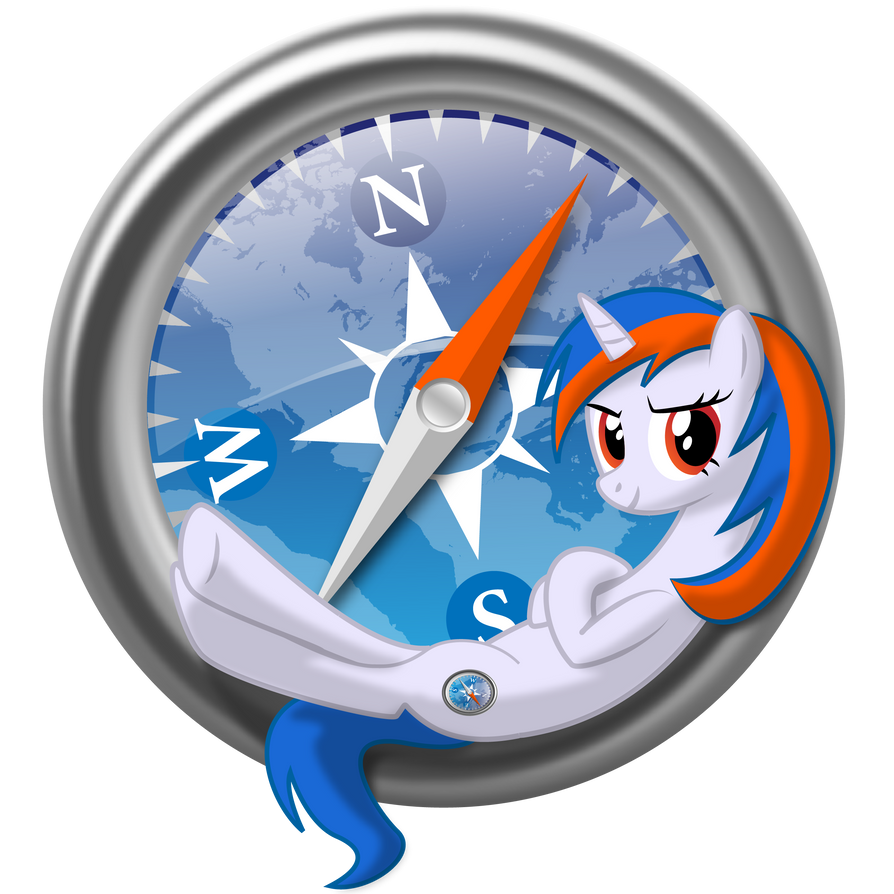 Safari browser pony logoSafari Browser Logo