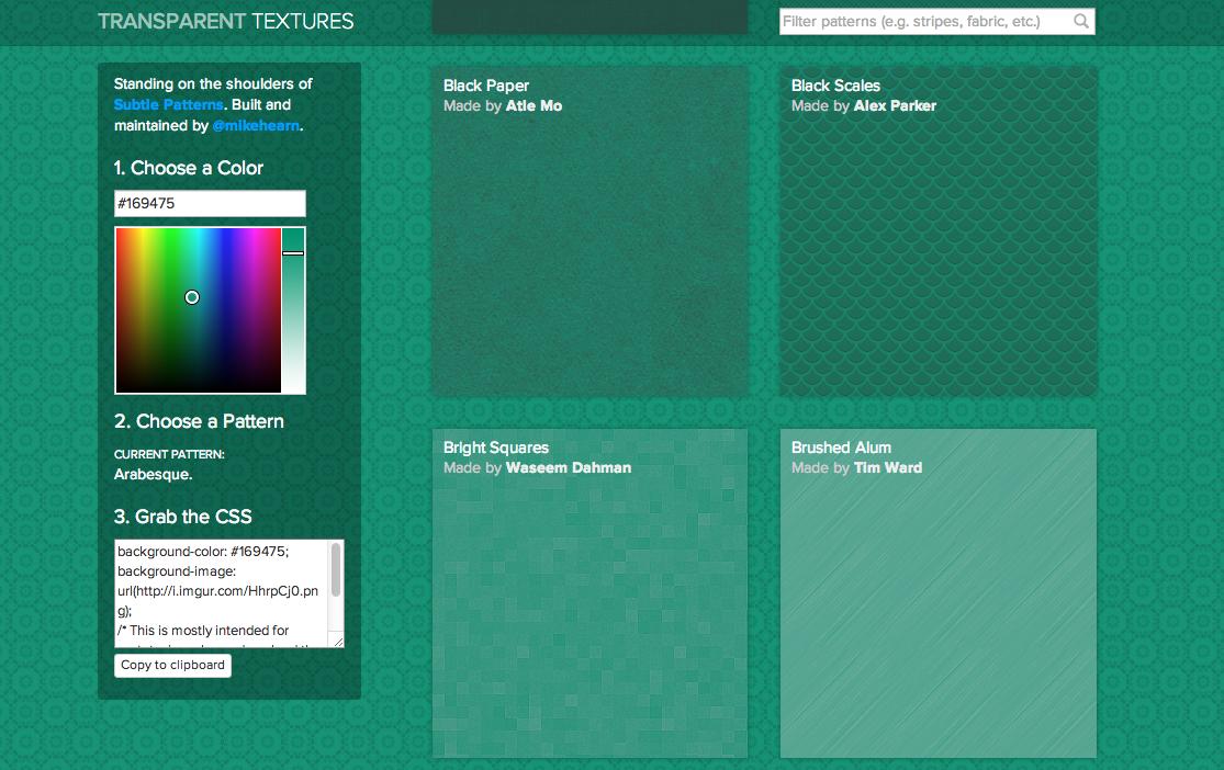 Transparent Textures Screenshot