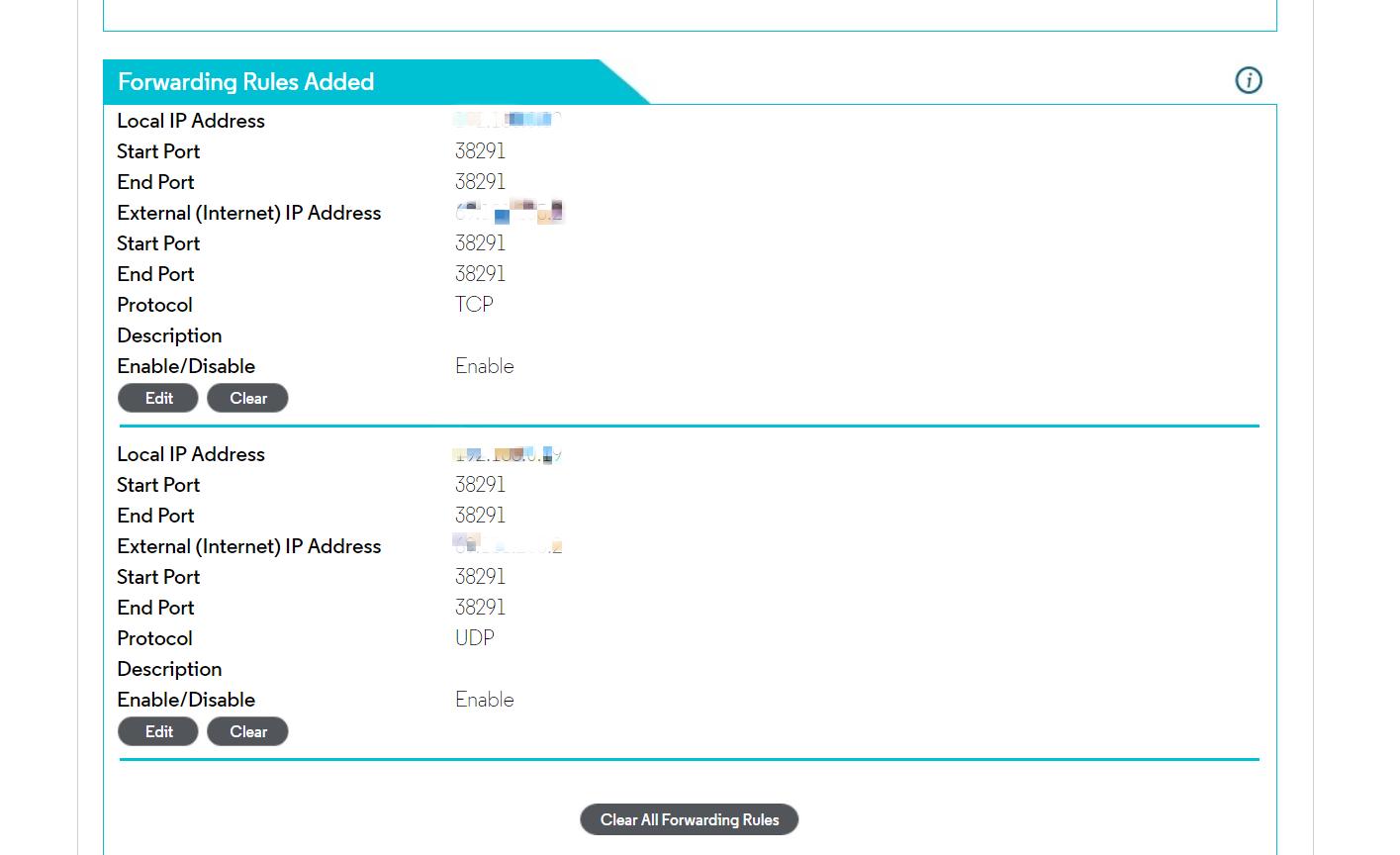 Private Network Setting, Port Forwarding · QuarkChain/pyquarkchain