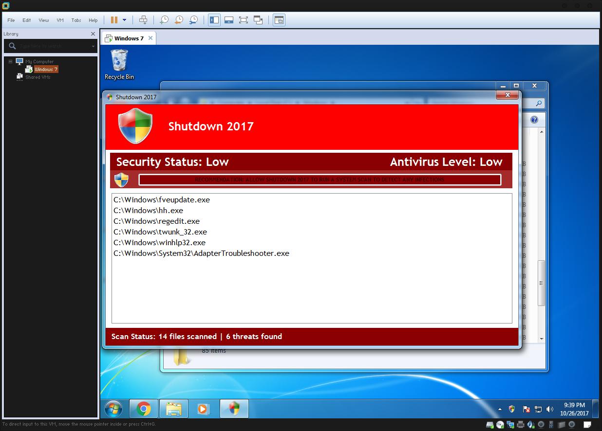 GitHub - AHXR/Trojan Win32 Lockdown: Shutdown 2017 Malware (Worm