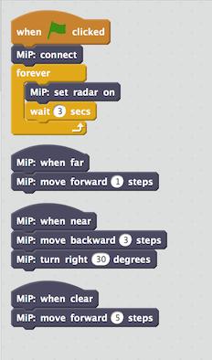 radar demo script
