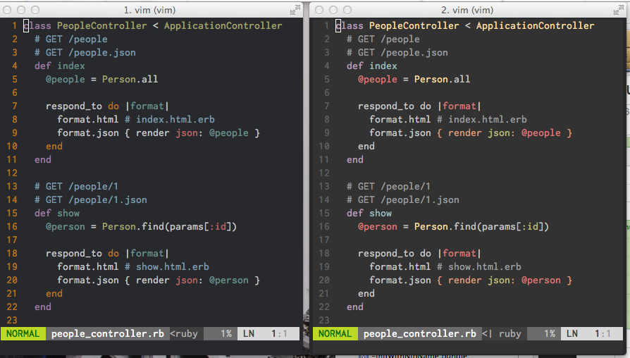 Tomorrow-Night is different in Vim and iTerm · Issue #109