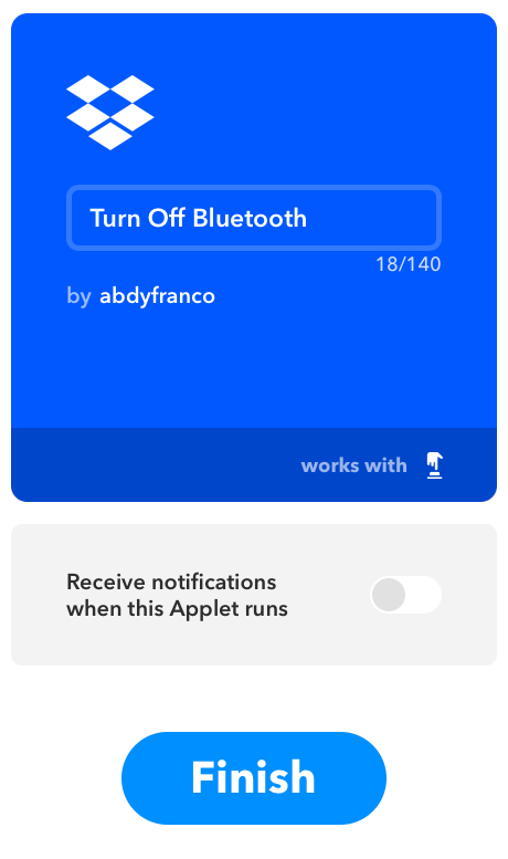 Applet Preview