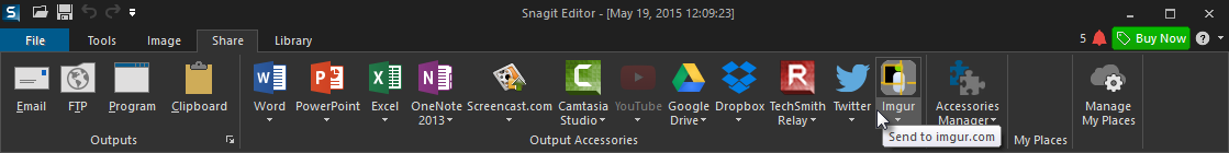 Snagit Toolbar