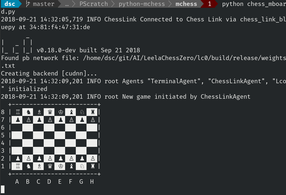Console mchess