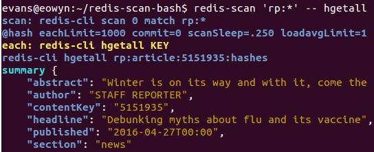 GitHub - evanx/redis-scan-bash: CLI bash script to scan Redis keys