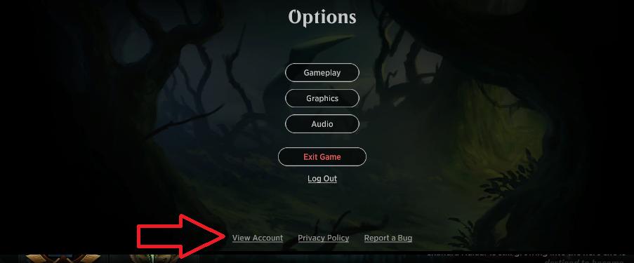 MTGA Options