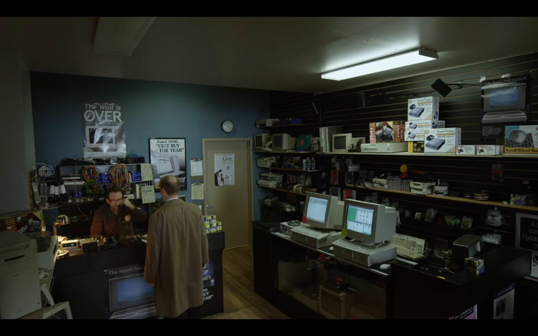 Grande plano do salão do Mr. Robot,: robot: screenshot 📷