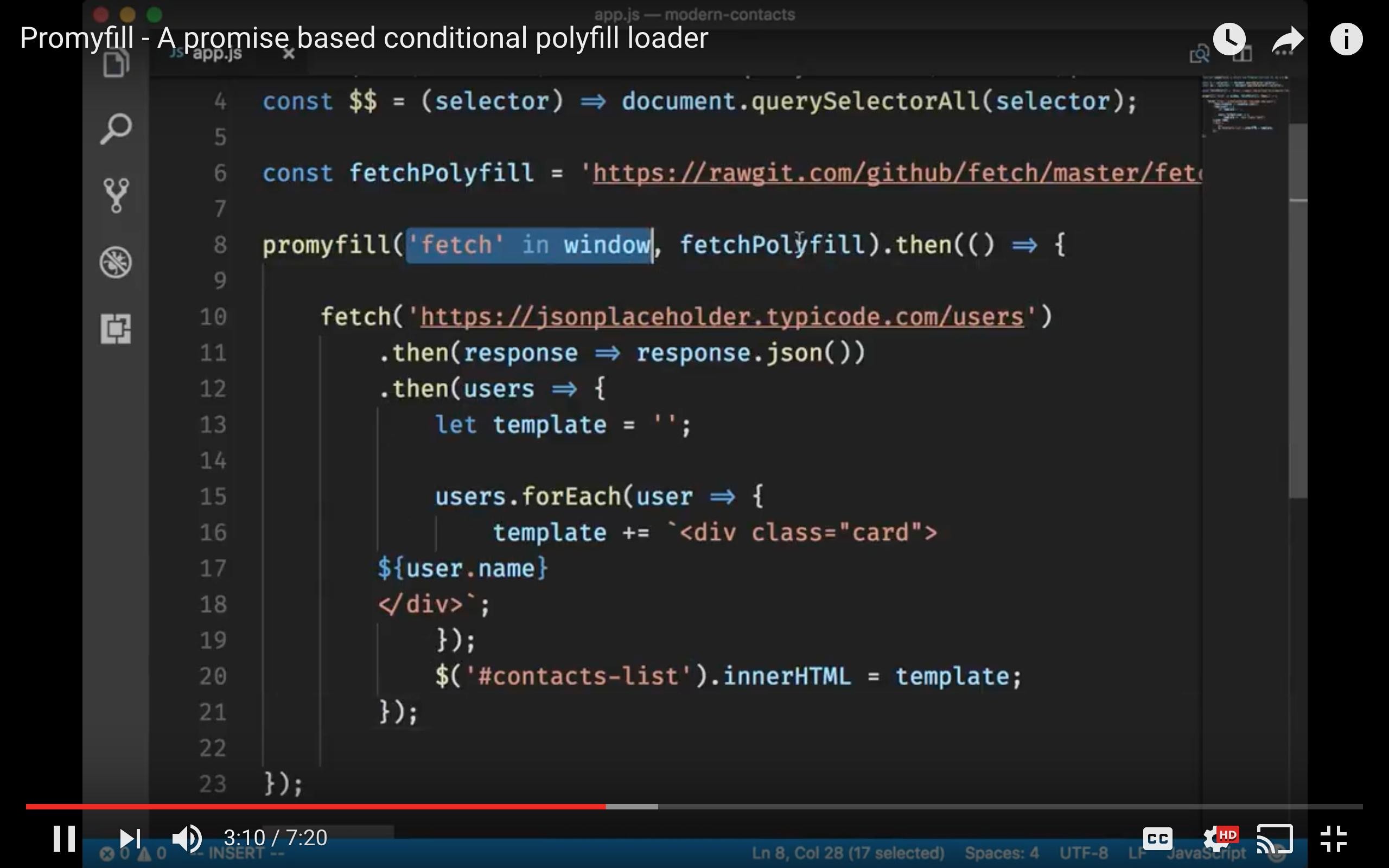 🔥 450Bytes Promise based conditional polyfill loader