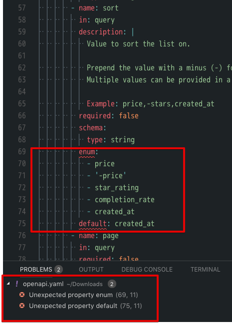 Enum not correctly exported · Issue #28 · Mermade/openapi