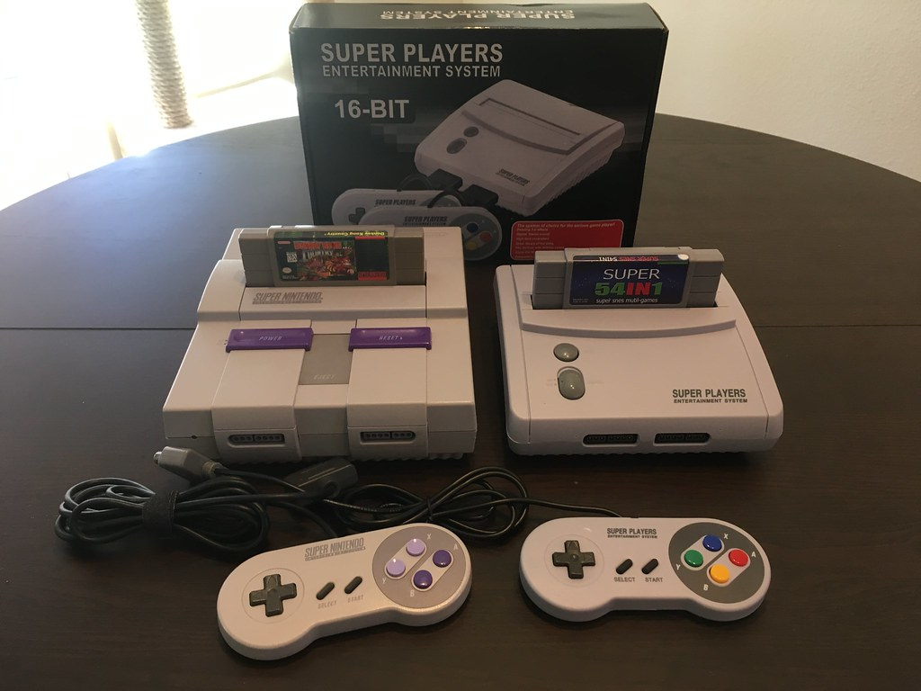 Super Players Entertainment System (SNES clone)