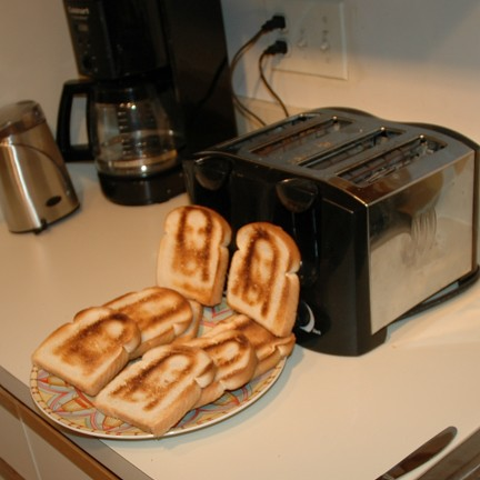 The Holy Toaster