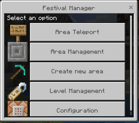 Start menu select management option