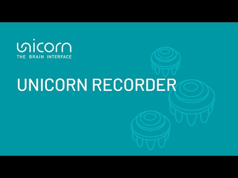 Unicorn Hybrid Black Tutorial: Unicorn Recorder