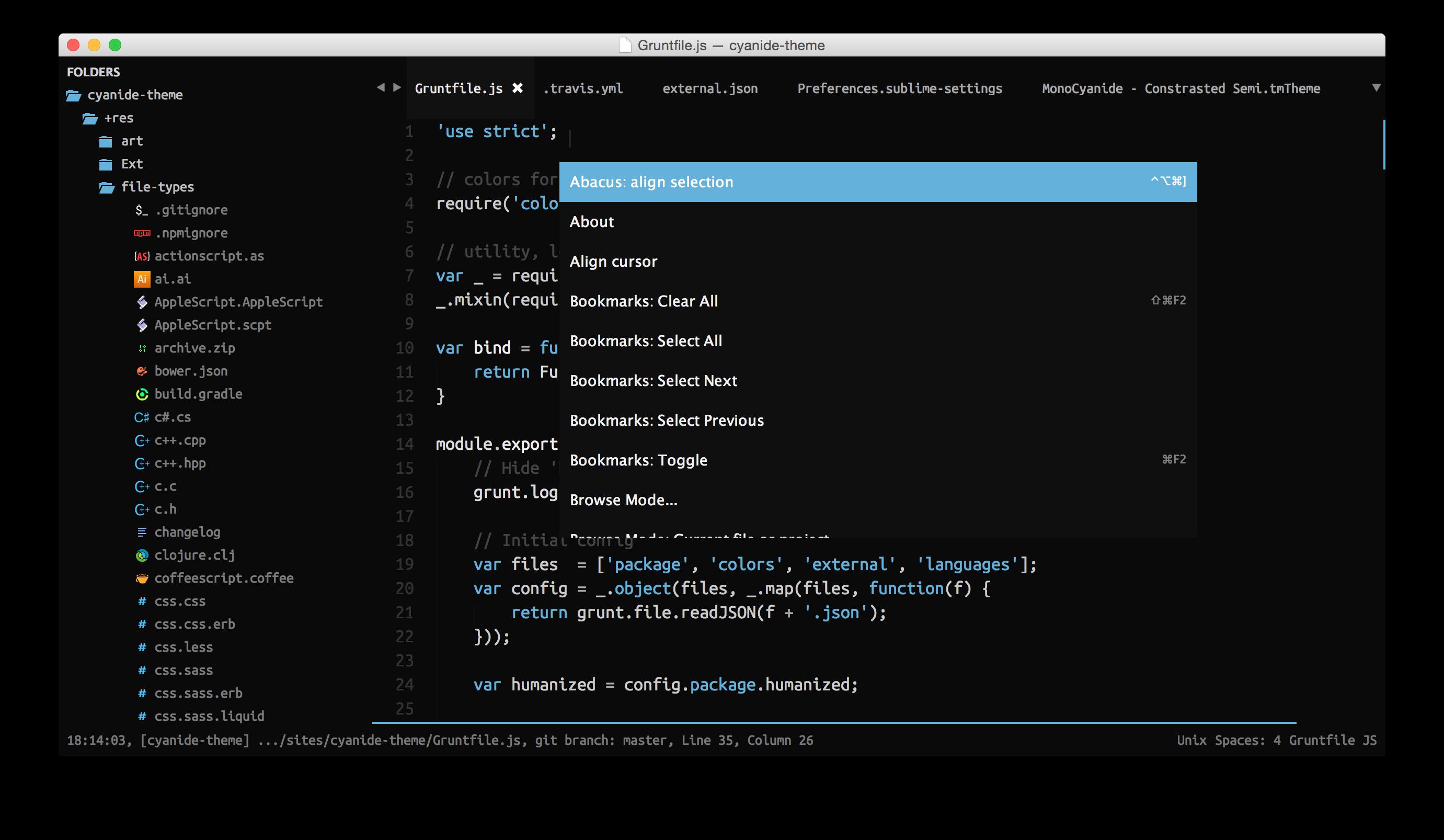 Default Theme Screenshot 3