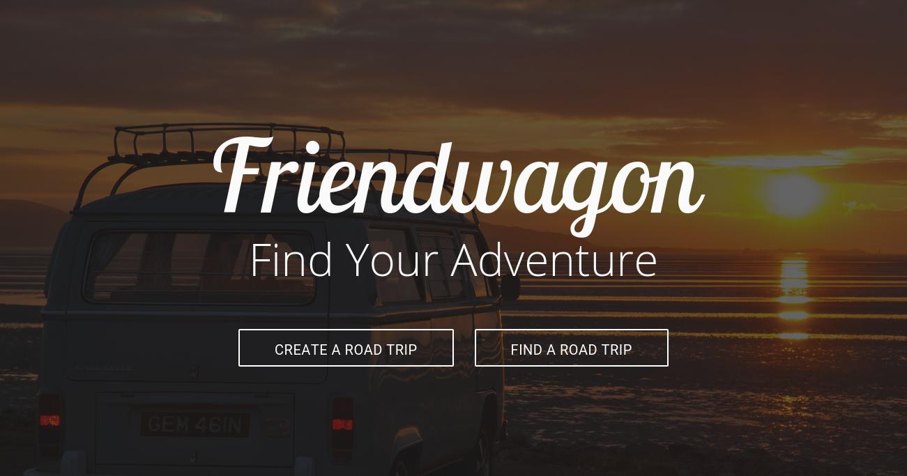 FriendWagon Front Page